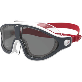 speedo Biofuse Rift V2 Goggles, red/smoke
